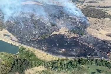 Governador de SP anuncia reforços para o combate aos incêndios