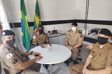 """Polícia Militar realiza reunião sobre o """"Proerd em casa"""" em Andradas"""