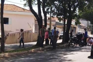 Motociclista fica ferido em acidente na Avenida Mário Lanzani, em Andradas