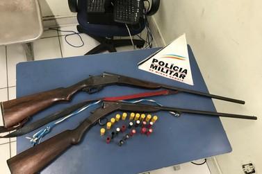 Polícia Militar apreende arma de fogo irregular em Caldas