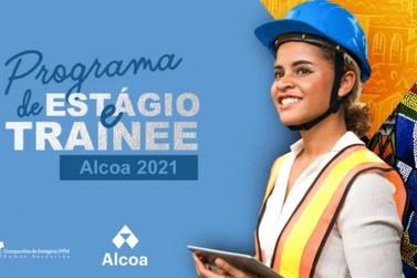 Alcoa abre inscrições para Programas de Estágio e Trainee 2021