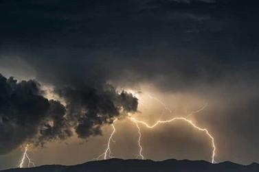 Andradas e região estão sob alerta de tempestade severa nessa terça-feira