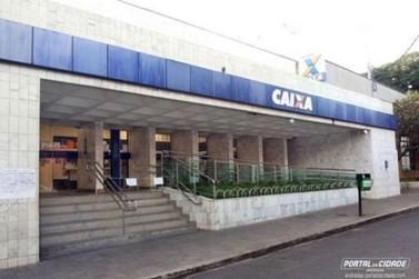 Caixa Econômica Federal em Andradas abre na manhã deste sábado