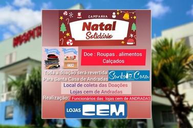 """Funcionários de loja em Andradas realizam campanha """"Natal Solidário"""""""