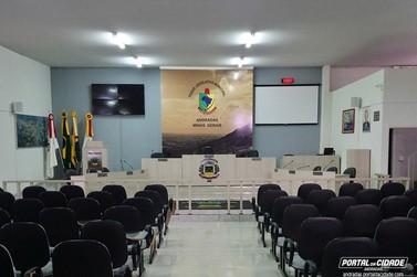 Câmara de Andradas tem Sessão Extraordinária nessa terça-feira