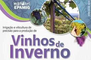 Epamig promove evento gratuito sobre irrigação e viticultura de precisão