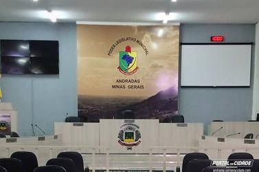 Sessão Solene de Posse dos eleitos em Andradas acontece no dia 1º de janeiro