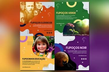 Flipoços temático contará com quatro programas literários ao longo de 2021