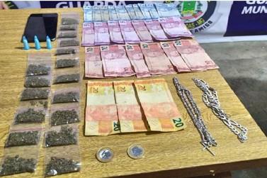 Guarda Municipal prende duas pessoas por tráfico de drogas em Andradas
