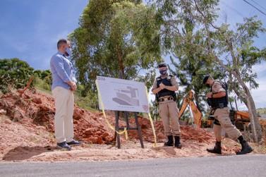 Novo quartel da Polícia Militar começa a ser construído em Caldas