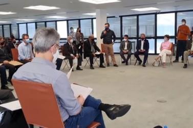 Políticos andradenses participam de encontro com governador Romeu Zema
