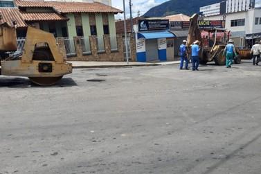 Prefeitura de Andradas inicia Operação Tapa Buracos pela região central
