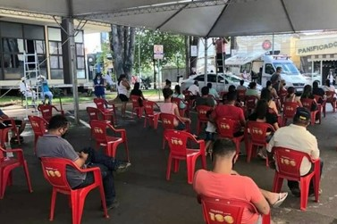 Prefeitura e Banco entram em acordo para instalar tenda para clientes