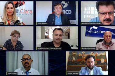 Evento Online com gestores públicos do Sul de Minas reúne quase 70 Prefeituras