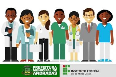 IF oferece cursos técnicos gratuitos em parceria com a Prefeitura de Andradas