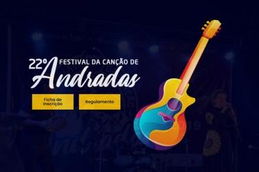 Inscrições para o 22º Festival da Canção de Andradas terminam nessa semana