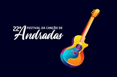 Organização do Festival da Canção de Andradas divulga canções classificadas