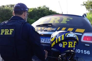 Polícia Rodoviária Federal prende motorista embriagado na BR-146