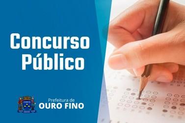 Prefeitura de Ouro Fino abre inscrições para Concurso Público em várias áreas