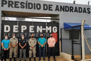 Reunião discute uso de mão de obra de detentos do Presídio de Andradas
