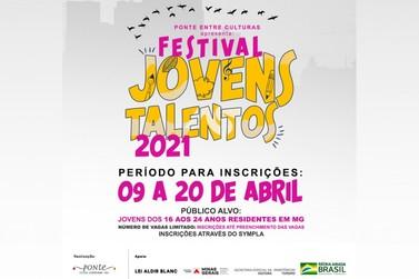 Abertas inscrições para as oficinas on-line do Festival Jovens Talentos 2021