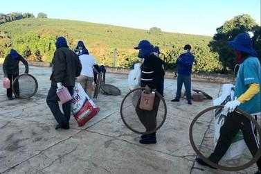 Emater cria cartilha com cuidados contra a covid-19 na colheita do café em MG