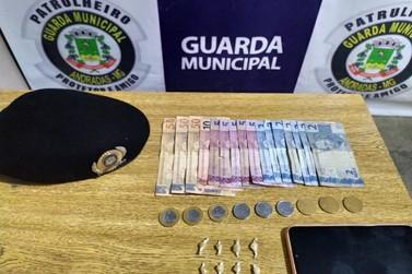 Guarda Municipal de Andradas realiza apreensão de drogas no bairro do Horto