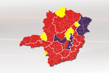 Sul de Minas continua na Onda Vermelha do Minas Consciente