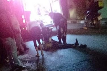 Homem morre após ser atropelado por carro em Poços de Caldas