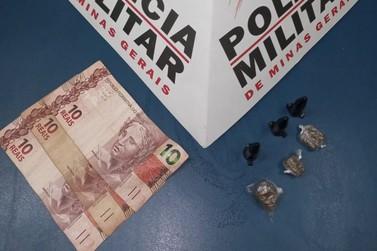 Jovem é preso pela Polícia Militar por tráfico de drogas em Andradas