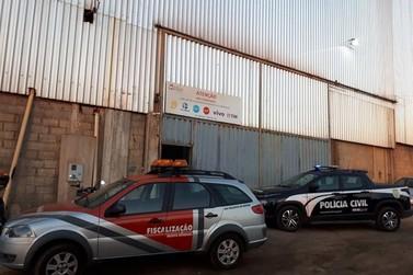 Operação Sinergia desarticula esquema de fraude no setor de metais e sucatas