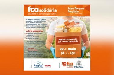 PUC Minas Poços de Caldas realiza ação da campanha FCA Solidária neste sábado