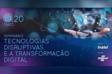 Sebrae Minas e Inatel realizam seminário gratuito sobre transformação digital