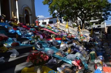 Andradenses fazem doações durante o feriado de Corpus Christi