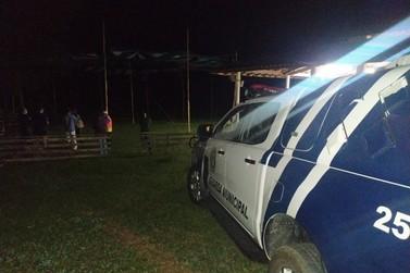 Guarda Municipal impede a realização de evento em Andradas