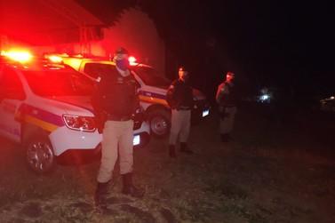 PM realiza policiamento preventivo durante a panha de café em Andradas