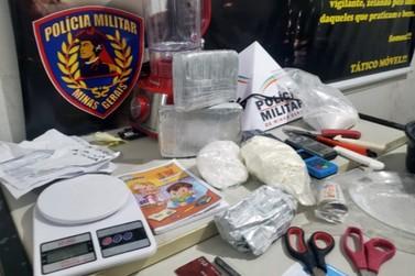 Polícia desmonta laboratório de refino de drogas em Poços de Caldas