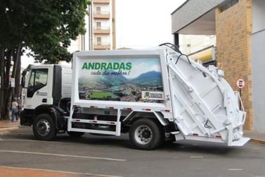 Prefeitura de Andradas divulga informações sobre coleta de lixo no feriado