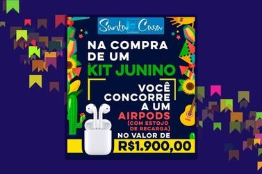 Santa Casa lança promoção para quem adquirir seu Kit Junino