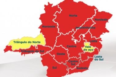 Sul de Minas segue classificado na Onda Vermelha do Minas Consciente