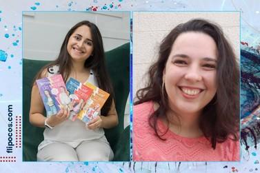 Autoras Jéssica Macedo e Mari Sales participam do Flipoços Virtual 2021