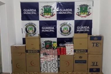 GM apreende centenas de pacotes de cigarros contrabandeados em Andradas