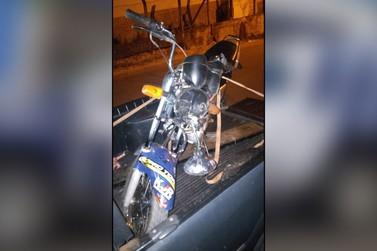 Guarda Municipal apreende motocicleta adulterada em Andradas
