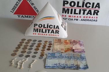 Adolescente é apreendido pela prática de tráfico de drogas em Andradas