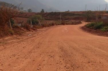 Antiga saída de Ibitiúra de Minas para Andradas receberá pavimentação asfáltica