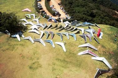 Campeonato Brasileiro de Asa Delta começa nesse fim de semana no Pico do Gavião