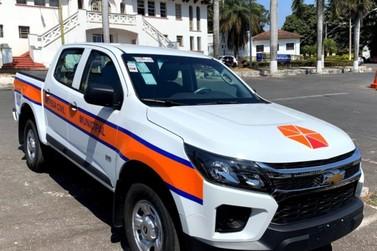 Defesa Civil de Andradas recebe nova caminhonete do Governo do Estado