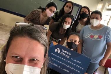 Escola Municipal do bairro do Óleo recebe quase R$ 60 mil do Instituto Alcoa