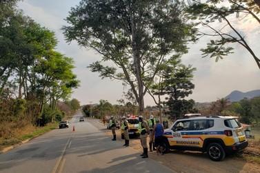 Morador de Andradas é preso durante operação da PM em Ibitiúra de Minas
