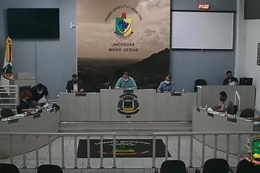 Noite de quarta-feira foi de reunião na Câmara Municipal de Andradas